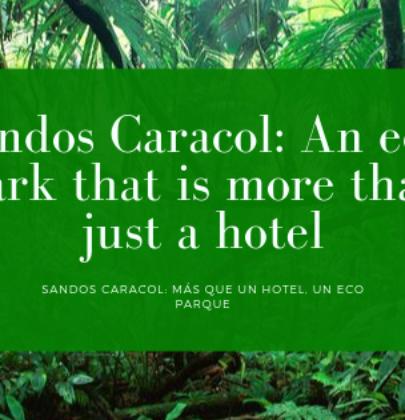 Sandos Caracol: archeological park in Playa del Carmen