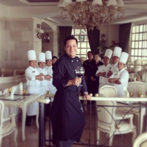 Featured Chef at Sandos Cancun