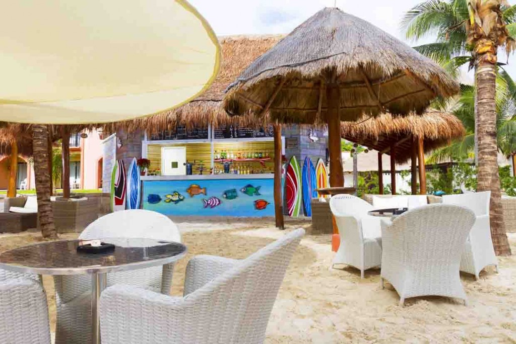 Bagel Beach at Sandos Playacar
