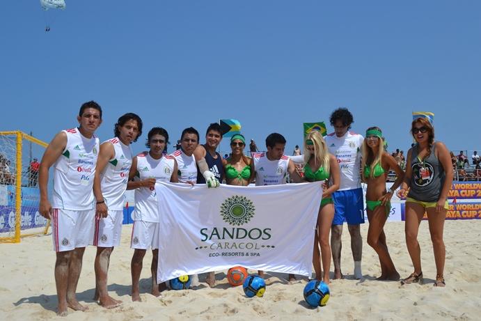 Beach futbol Worldwide Riviera Maya Cup