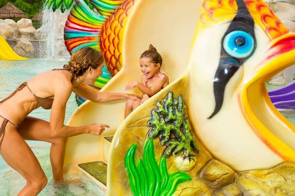 Sandos Caracol family activities water park