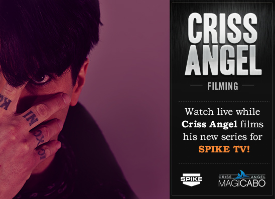Criss Angel MagiCabo event