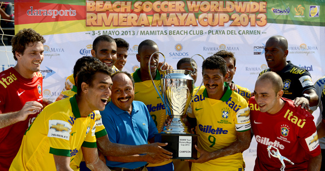 Cup winners celebrate