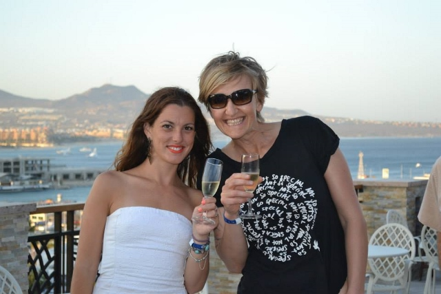 A toast in Los Cabos