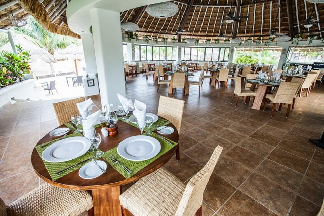 Sandos Caracol resort Salvia vegetarian restaurant 2
