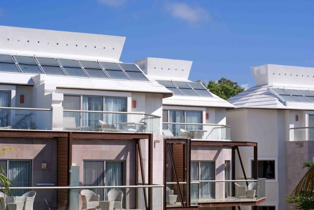 Sandos Caracol resort eco friendly solar panels