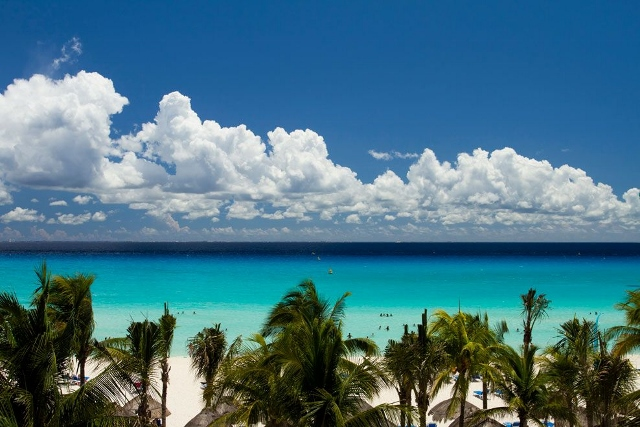 most beautiful beach in Playa del Carmen