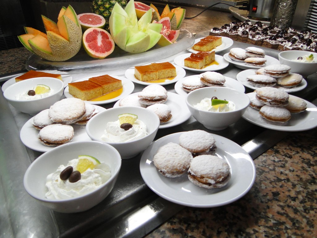 Traditional deserts from Argentina