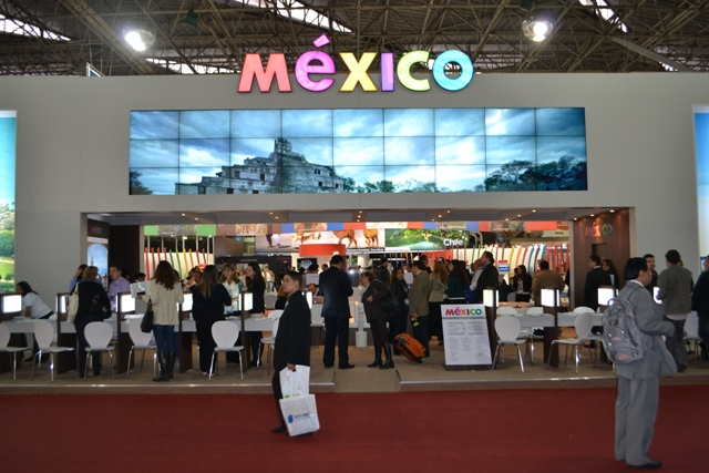 Mexico display booth