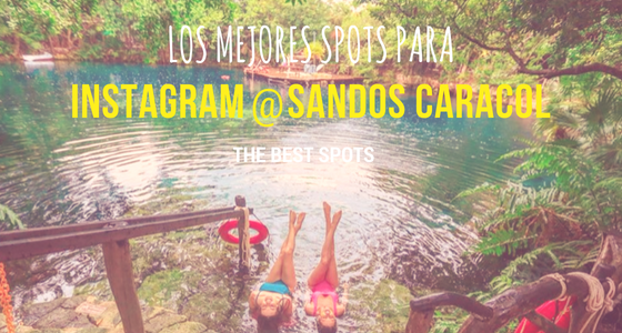 The Best Spots for Instagram at Sandos Caracol
