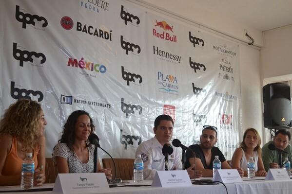 BPM Festival electronic music Playa del Carmen