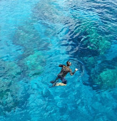 Snorkeling in Playa del Carmen, Mexico