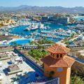 Cabo San Lucas Marina aerial view