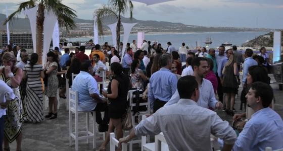 "Expedia Hosts ""Partner Appreciation Cocktail Party"" at Sandos Finisterra"