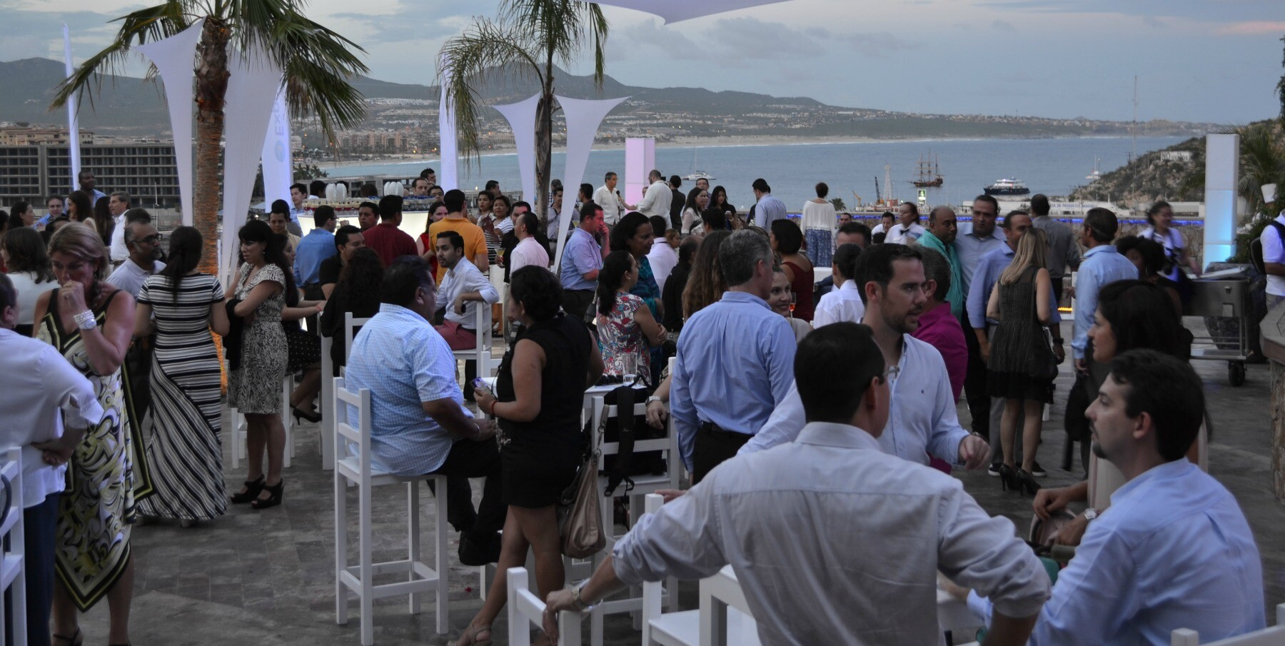 Cabo San Lucas cocktail event