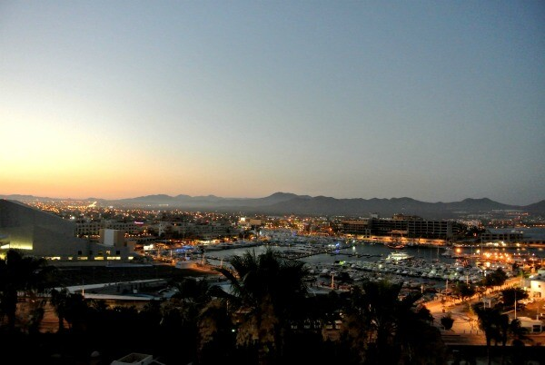 Cabo San Lucas sunset view