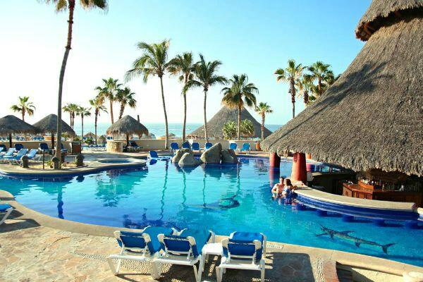 Cabo San Lucas swim up bar