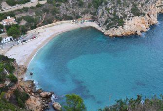 Playa de Jávea, en Alicante.