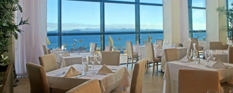Canary Islands ocean view restaurant