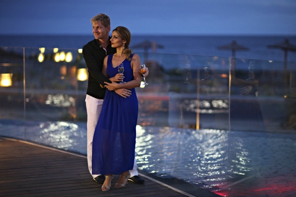 Romantic vacation in the Canary Islands