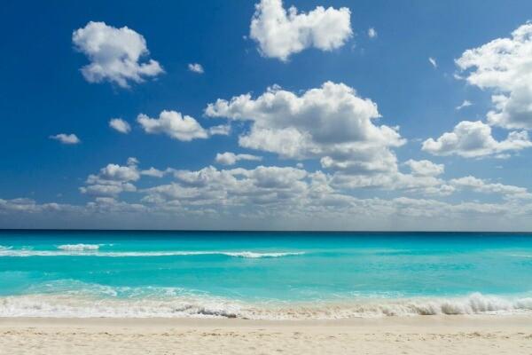 Cancun Hotel Zone beach