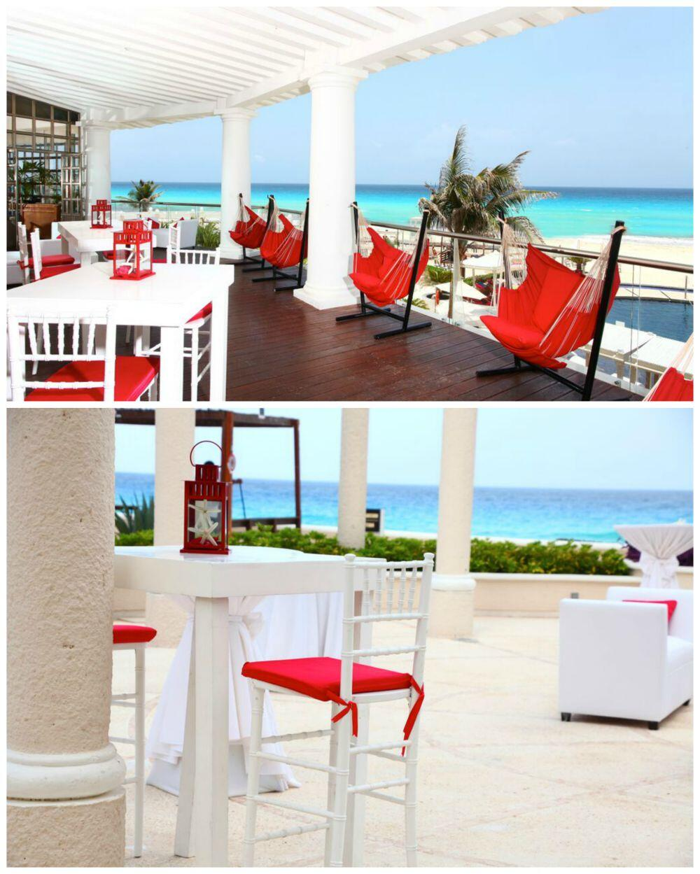 Eventos con vista al mar en Cancun