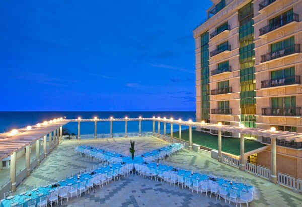 Cancun ocean view events
