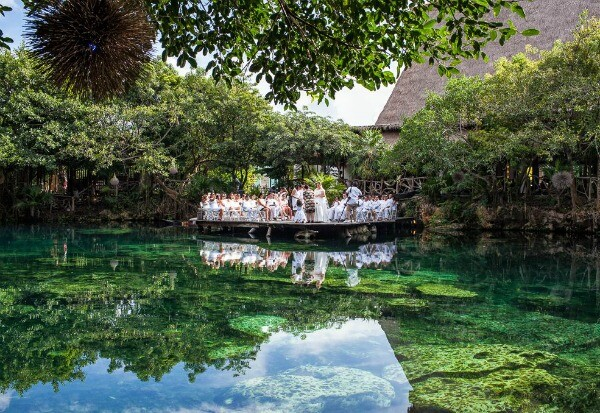 Cenote wedding Riviera Maya