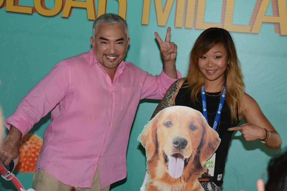 Cesar Millan fan photo