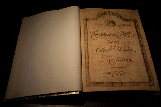 Constitución en México