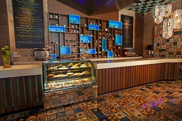 Cupcake Cafe Sandos Playacar Beach Resort