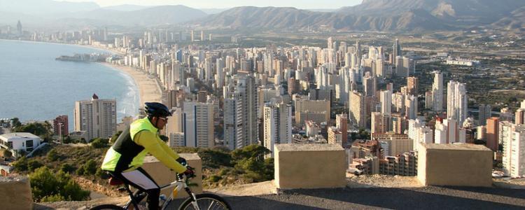 Ciclismo en Benidorm España