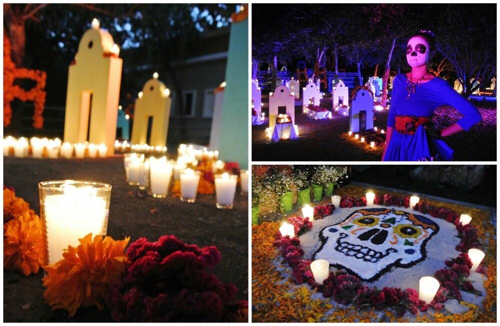 Cementerio Día de Muertos