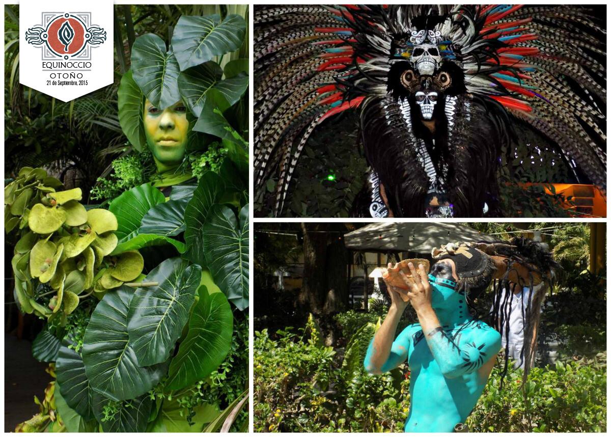 Disfraces mayas