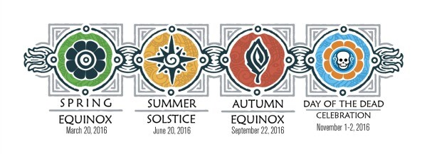 Equinox and Solstice events Mexico