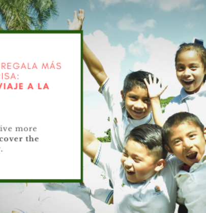 This Christmas give more than a smile. Discover the way of solidarity.