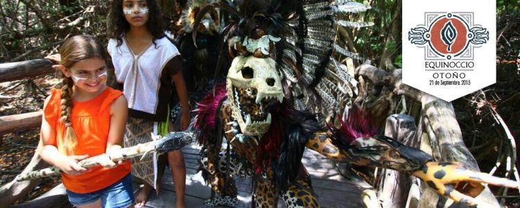 Evento maya en Playa del Carmen
