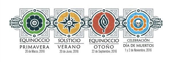 Eventos equinoccio y solsticio en México