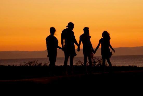 Viaja en familia a las Islas Canarias-Puesta de sol-Lanzarote
