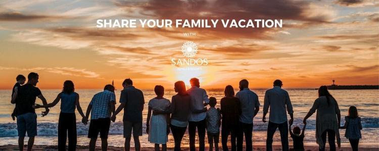 Viaja con tu familia con Sandos Hotels & Resorts