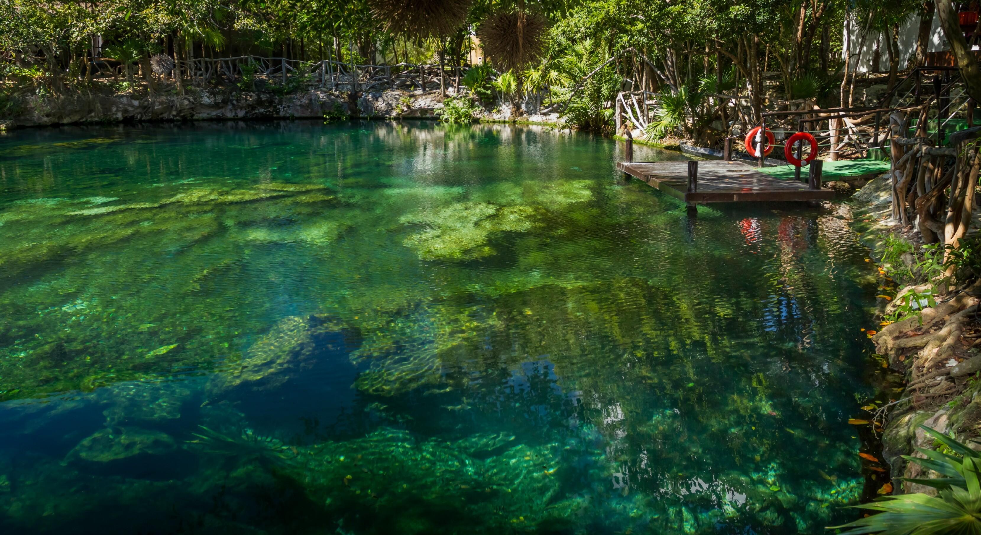 Sandos Caracol eco resort cenote