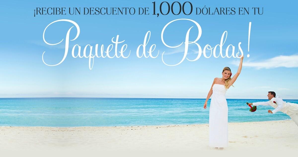 Hero paquete de boda Riviera Maya