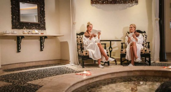 A Day in the Spa at Sandos Cancun