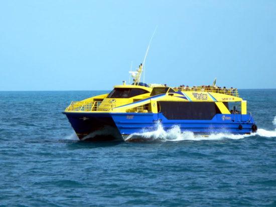 ferry a isla contoy