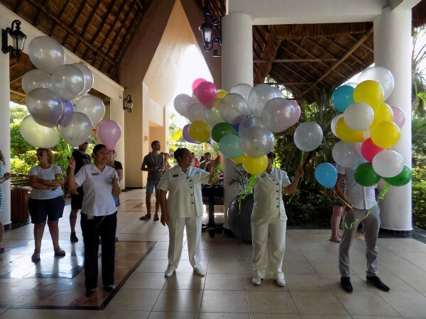 Kids event Riviera Maya resort
