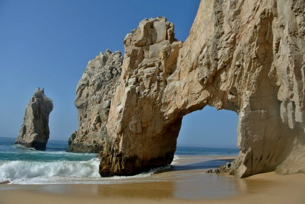 Lands End Arch beach
