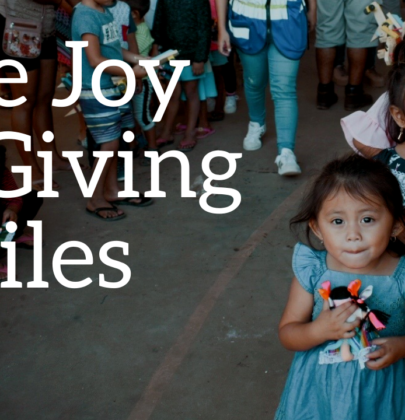 The Joy of Giving Smiles