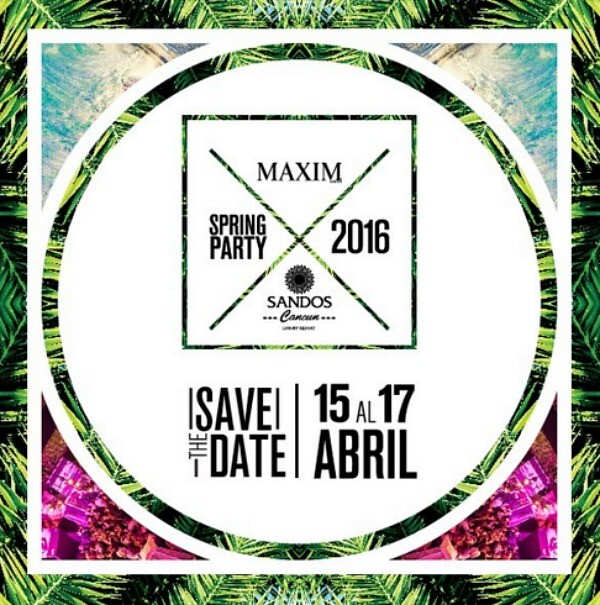 Maxim Spring Party 2016 Cancun