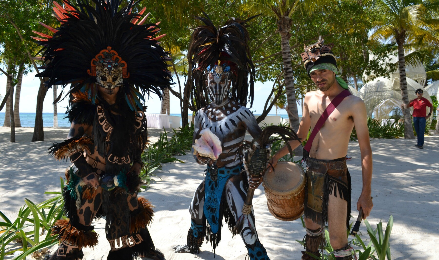 Mayan warriors Riviera Maya hero shot