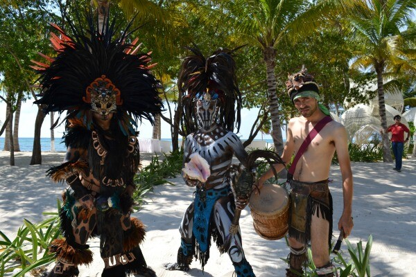 Mayan warriors Riviera Maya